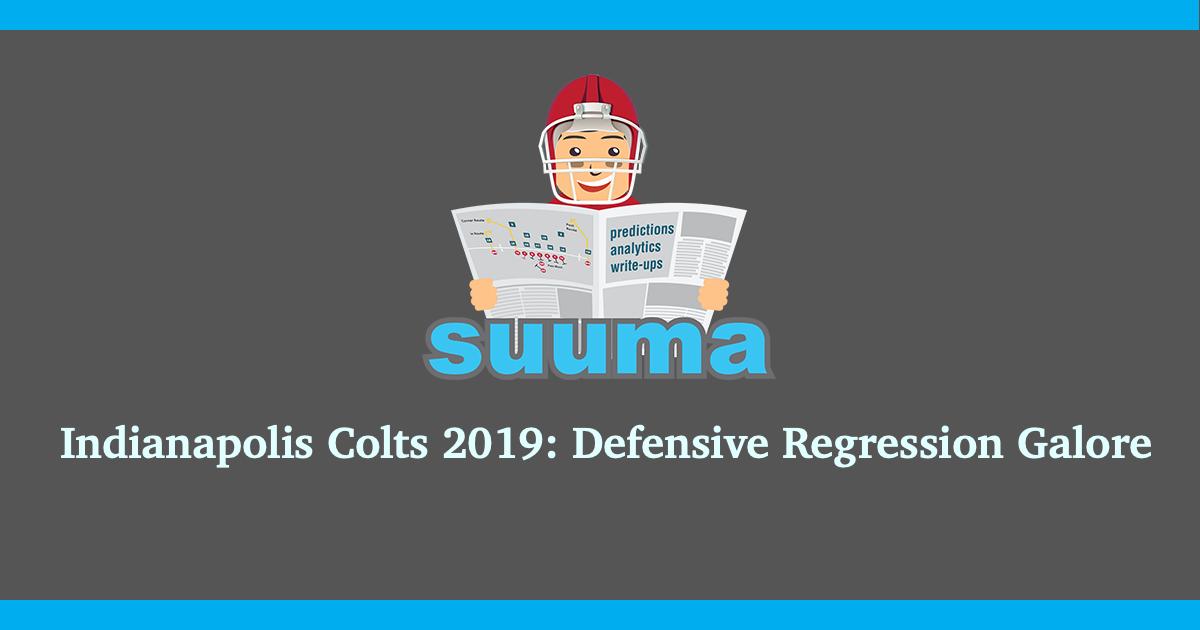 Indianapolis Colts 2019: Defensive Regression Galore