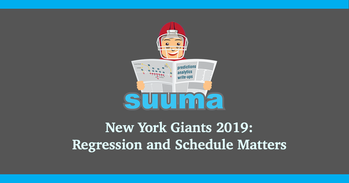 New York Giants 2019: Regression and Schedule Matters